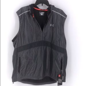 Under Armour Men's Gray Running Vest 2XL/2TG